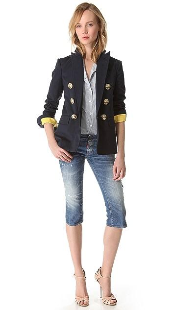 DSQUARED2 Susie Anchors Captain Jacket