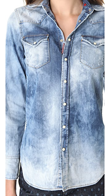 DSQUARED2 Denim Shirt