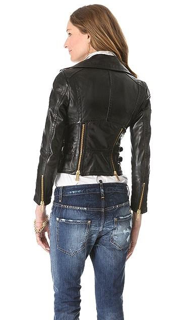 DSQUARED2 Cher Lapierre Leather Jacket