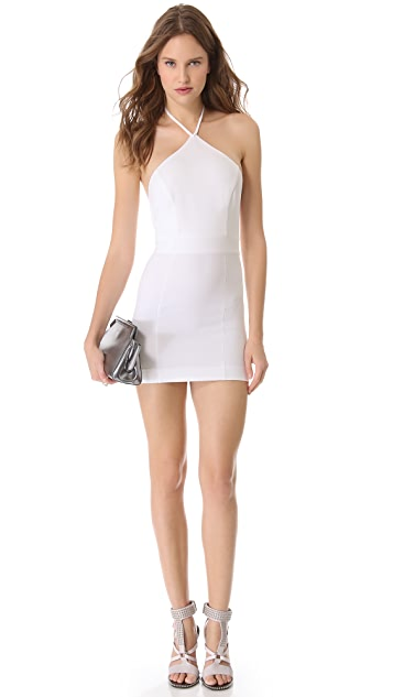 DSQUARED2 Halter Neck Sheath Dress