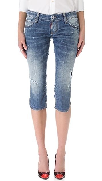DSQUARED2 Clam Diggs Jeans