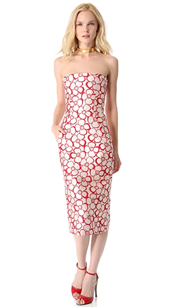 DSQUARED2 Strapless Dress