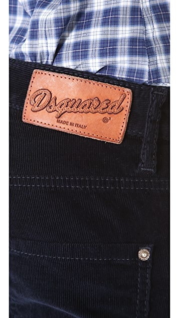 DSQUARED2 Cool Girl Courduroy Pants