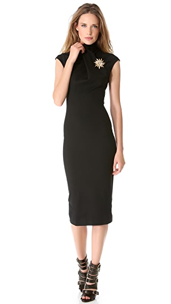 DSQUARED2 Cap Sleeve Jersey Dress