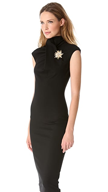 DSQUARED2 Cap Sleeve Jersey Dress