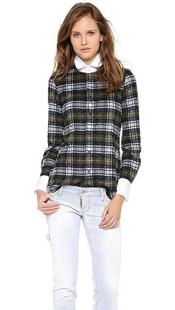 DSQUARED2 Kaiser Dean Contrast Shirt