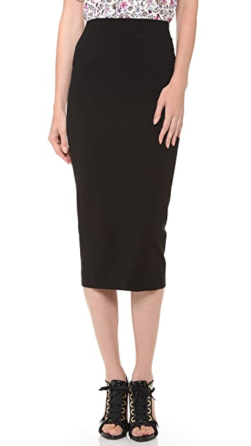 DSQUARED2 Compact Jersey Sexy Skirt