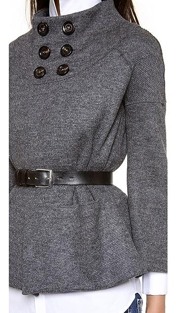 DSQUARED2 Neck Button Jacket