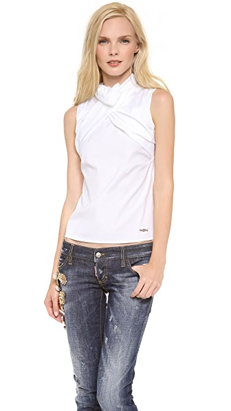 DSQUARED2 Drape Sleeveless Top