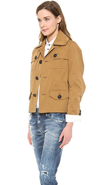 DSQUARED2 Light Cotton Jacket