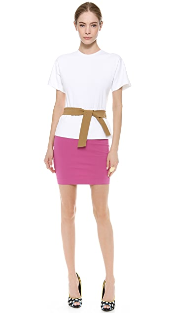 DSQUARED2 Colorblock Dress