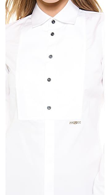 DSQUARED2 Long Sleeve Poplin Blouse