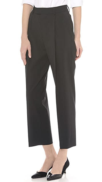 DSQUARED2 Wool Slouch Pants