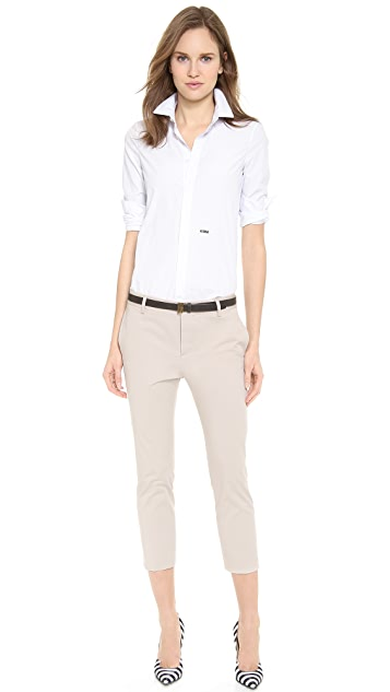 DSQUARED2 Light Cotton Pants