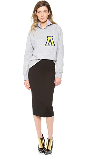 DSQUARED2 Jersey Pencil Skirt