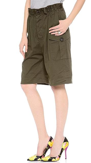 DSQUARED2 Stretch Cotton Shorts