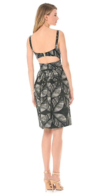 DSQUARED2 Palms Printed Dress