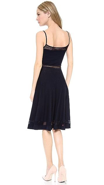 DSQUARED2 Lattice Edge Dress