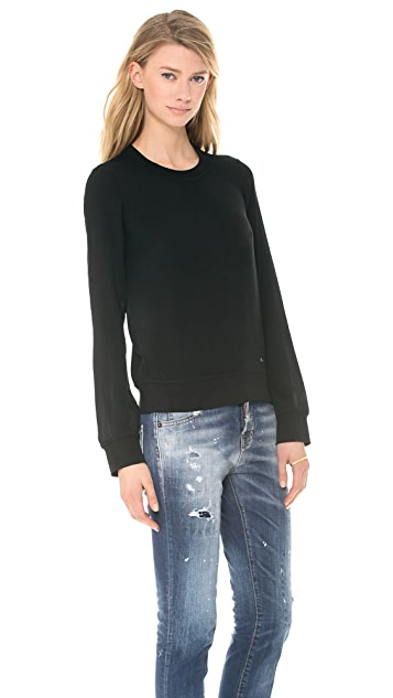 DSQUARED2 Sporty Couture Long Sleeve Top