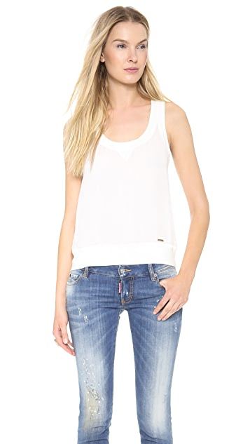 DSQUARED2 Sport Couture Tank Top