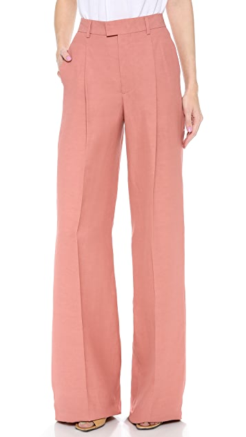 DSQUARED2 High Waist Wide Pants
