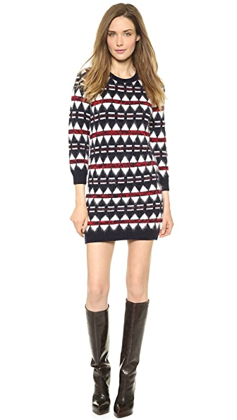 DSQUARED2 Jacquard Sweater Dress