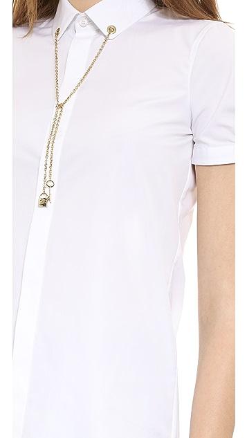 DSQUARED2 Chain Padlock Boxy Shirt