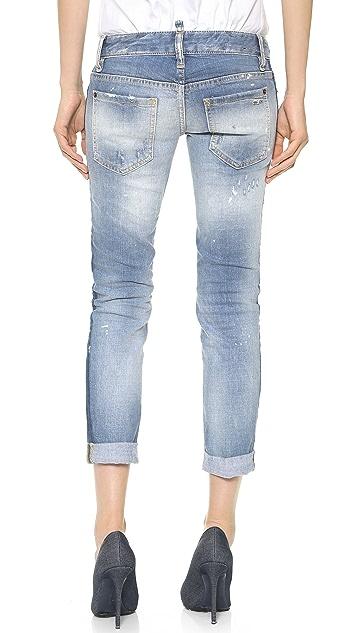 DSQUARED2 Pat Skinny Jeans