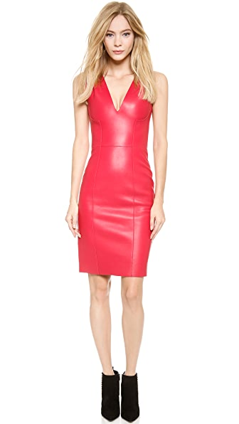 DSQUARED2 Simone Leather Dress