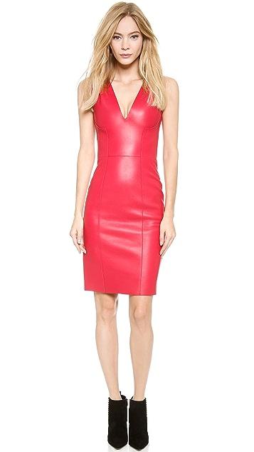 DSQUARED2 Simone Leather Dress