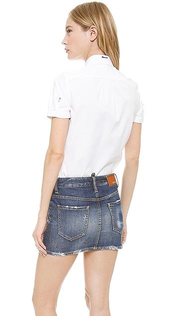 DSQUARED2 Short Sleeve Blouse