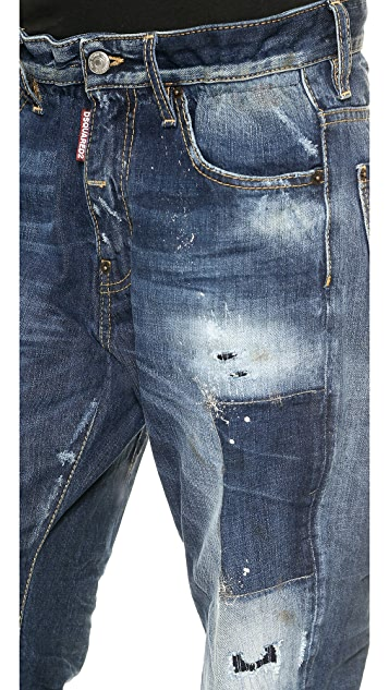 DSQUARED2 Big Dean's Brother Jeans