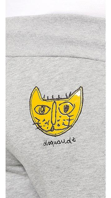 DSQUARED2 Cat Sweatpants