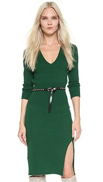 DSQUARED2 3/4 Sleeve Knit Dress