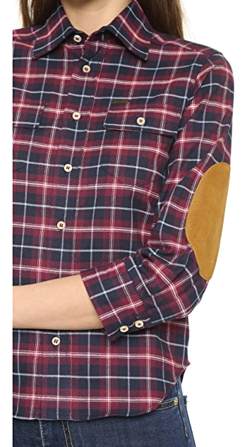DSQUARED2 Plaid Button Down