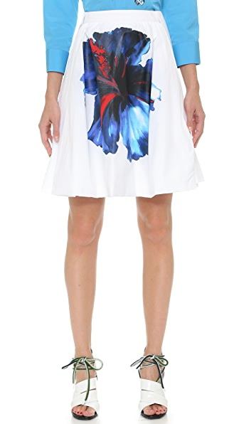 DSQUARED2 Hibiscus Skirt - White