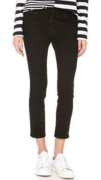 DSQUARED2 Укороченные джинсы Cool Girl