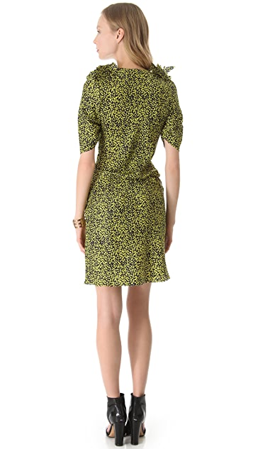 David Szeto Stanwyck 3/4 Sleeve Dress