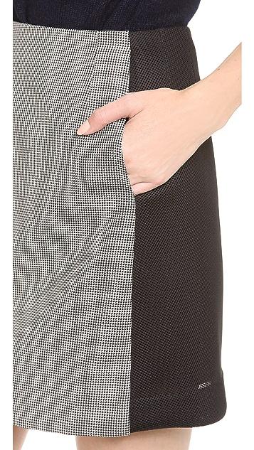 David Szeto A Line Miniskirt