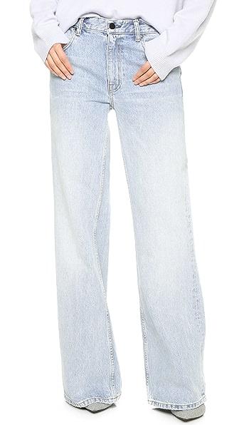 Denim x  Alexander Wang Rave Wide Leg Jeans