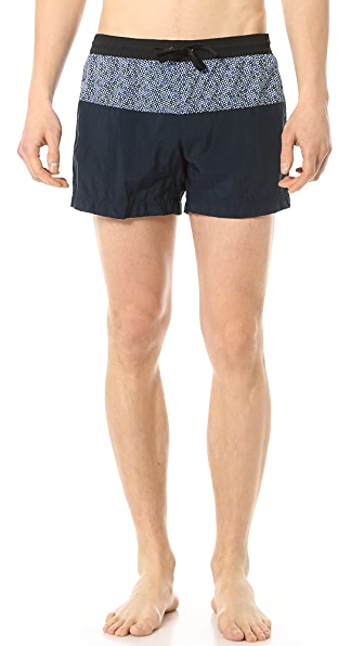 Dan Ward Triangle Boxer Swim Trunks