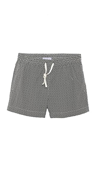 Dan Ward Mini Mosaic Swim Trunks