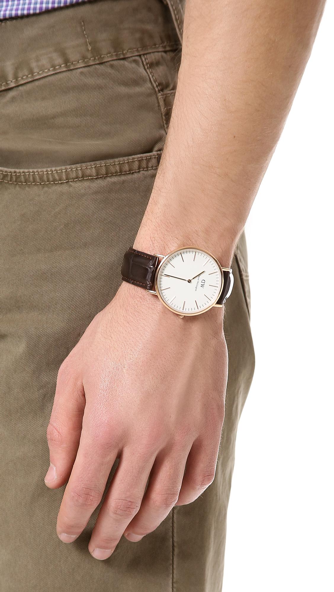 c3233c22caa2 Daniel Wellington York 40mm Watch