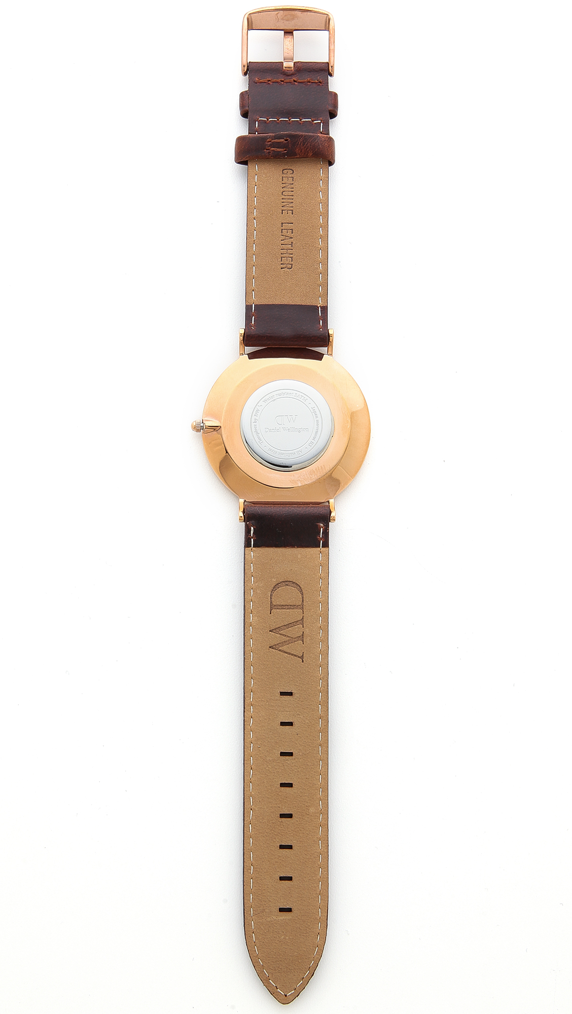 6b8a177590d3 Daniel Wellington St. Mawes 40mm Watch with Brown Leather Band ...