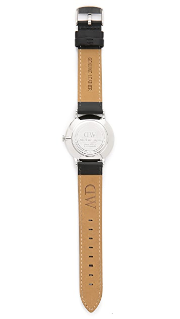 Daniel Wellington Dapper Sheffield 38mm Leather Band Watch