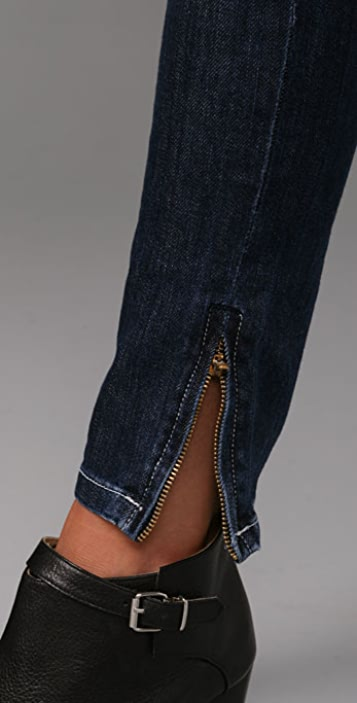 Dylan George Lucy Low Rise Skinny Jeans