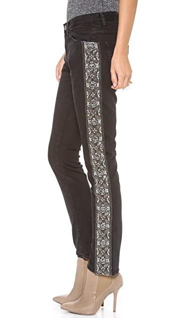 EACH x OTHER Yi Zhou Slouchy Embroidered Jeans