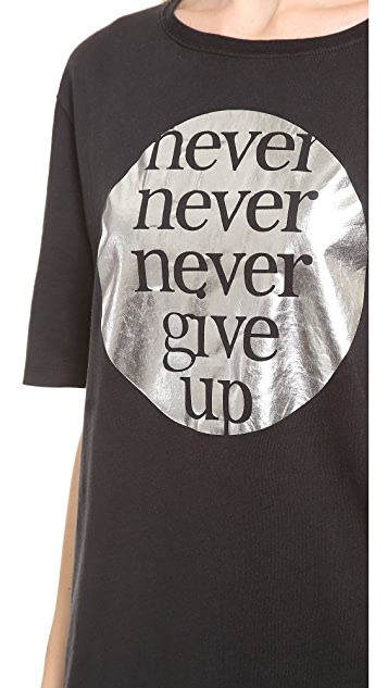 EACH x OTHER Blair Chivers Never Give Up T-Shirt