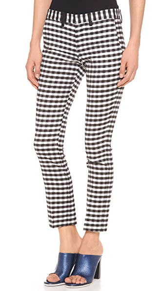 EACH x OTHER Gingham Pants