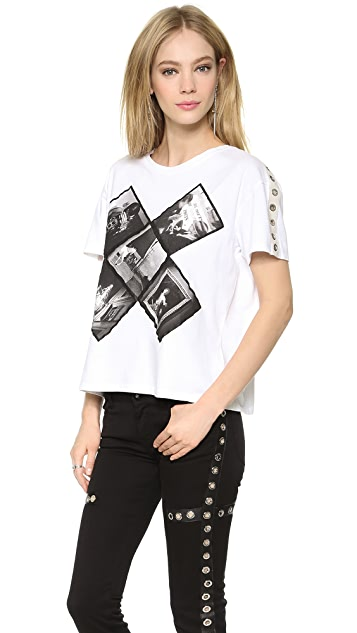 EACH x OTHER Fabio Paleari Cropped T-Shirt